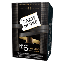 Carte Noire Cafe Long Authentique No.6