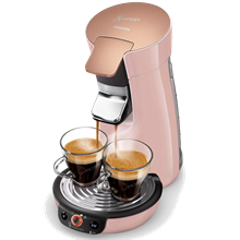 Philips Senseo Viva Café Duo Select - Rosa