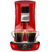 Philips Senseo Viva Café Duo Select - Rød