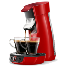 Philips Senseo Viva Café Duo Select Rød
