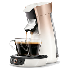 Philips Senseo Viva Café Duo Select Rosa/Kobber