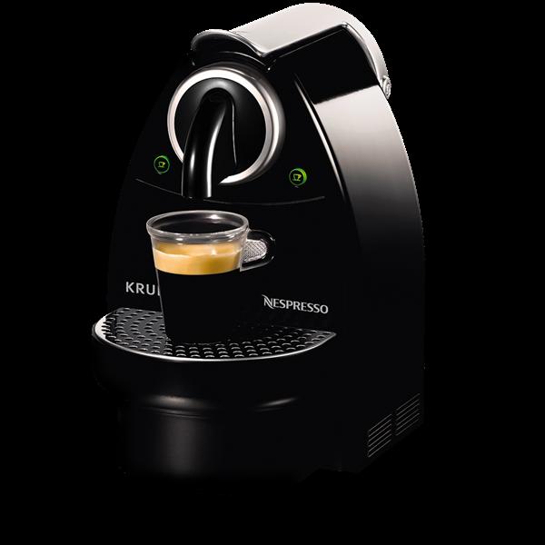 Nespresso® maskine - Krups XN-2120 Essenza sort kaffemaskine - Kaffekompagniet.com