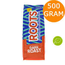Roots Dark Roast Øko 500g kaffebønner