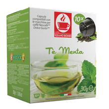 Mint te infusion