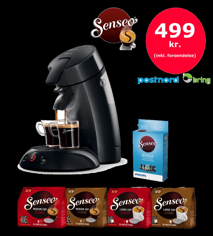 senseo kaffe tilbud